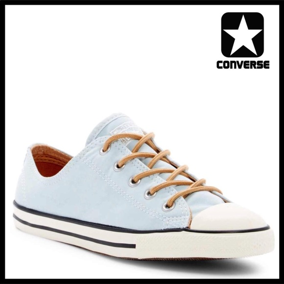 bf5c5a356f85 CONVERSE CHUCK TAYLOR LOW TOPS BRUSHED OX SNEAKERS